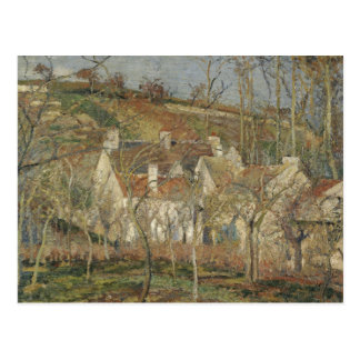 Camille Pissarro - Red Roofs, Corner of a Village Postcard