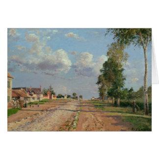 Camille Pissarro - Route de Versailles Card