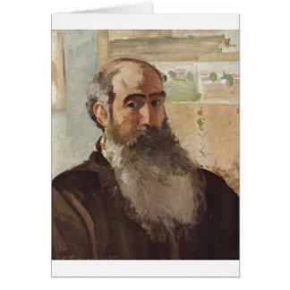 Camille Pissarro - Self Portrait 1873 selfportrait Card