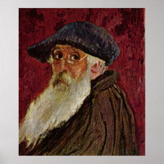 Camille Pissarro Self Portrait 1898 selfportrait Poster