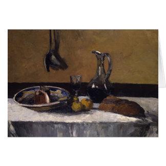 Camille Pissarro - Still Life Card