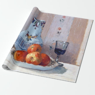 Camille Pissarro Still Life with Apples Pitcher Wrapping Paper
