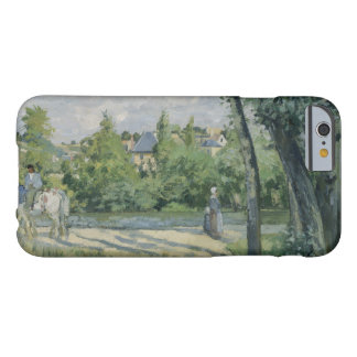 Camille Pissarro - Sunlight on the Road, Pontoise Barely There iPhone 6 Case