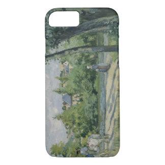 Camille Pissarro - Sunlight on the Road, Pontoise iPhone 7 Case