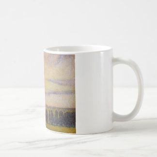 Camille Pissarro - Sunset at Eragny Coffee Mug