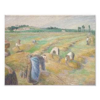Camille Pissarro - The Harvest Art Photo
