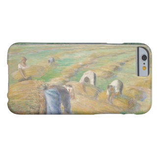 Camille Pissarro - The Harvest Barely There iPhone 6 Case
