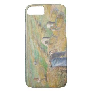 Camille Pissarro - The Harvest iPhone 7 Case
