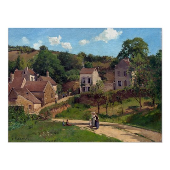 Camille Pissarro The Hermitage at Pontoise Poster