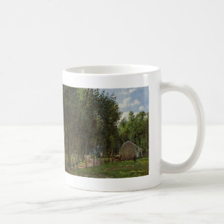 Camille Pissarro- The House in the Forest Coffee Mug