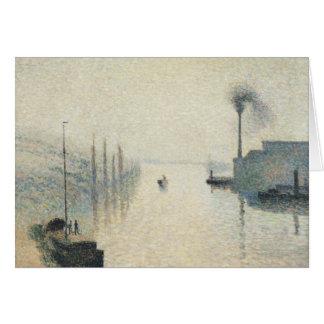 Camille Pissarro - The Island Lacroix, Rouen Card