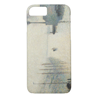 Camille Pissarro - The Island Lacroix, Rouen iPhone 7 Case