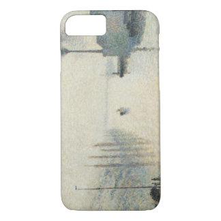 Camille Pissarro - The Island Lacroix, Rouen iPhone 7 Case