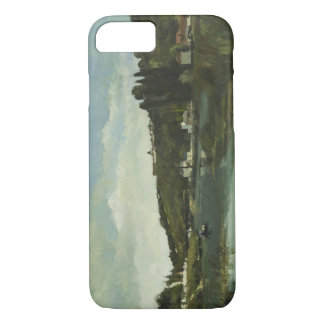 Camille Pissarro - The Marne at Chennevieres iPhone 7 Case