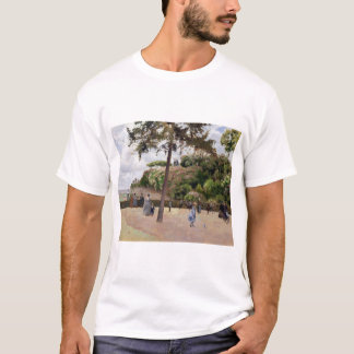 Camille Pissarro The Public Garden at Pontoise T-Shirt