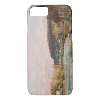 Camille Pissarro - The Seine at Bougival iPhone 7 Case