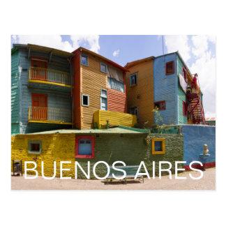 Caminito, La Boca, Buenos Aires Postcard