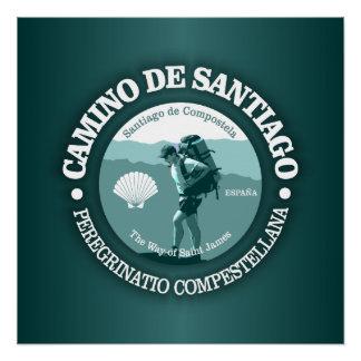 Camino de Santiago Poster