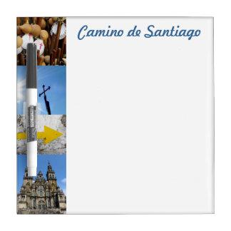 Camino de Santiago Small Whiteboard