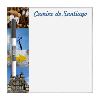 Camino de Santiago Small Whiteboard Dry Erase Boards