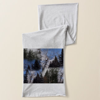 Camino St Croix Winter Spruce Collage Scarf
