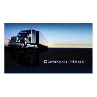 Camion - carte de visite de transport et de