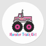 Camion de monstre adhésifs