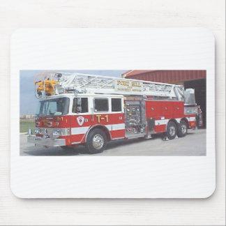 camion de pompiers tapis de souris