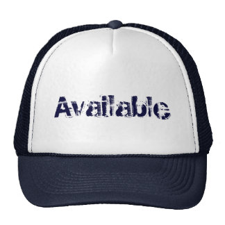 Camionneur disponible casquette de camionneur