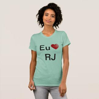 Camiseta Eu amo Rio de janeiro T-Shirt