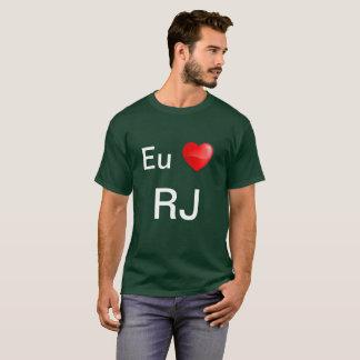Camiseta Eu amo RJ T-Shirt