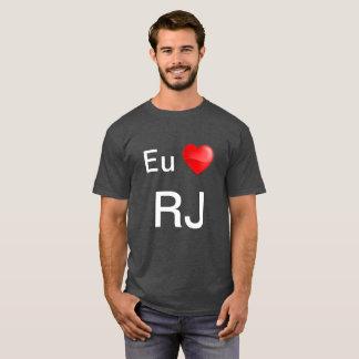 camiseta eu ao RJ T-Shirt
