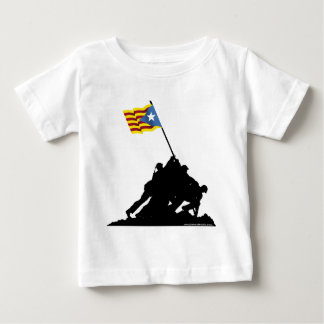 Camisetes Catalonia: Independence Iwo Jima Baby T-Shirt