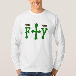 Camisia Christi Crucis Supremae de Columbo T-Shirt
