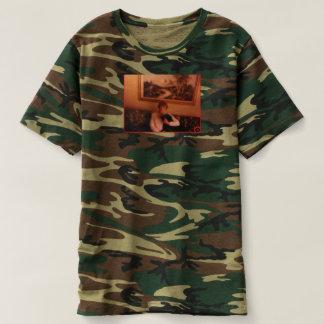 Cammo Lady Dog T-shirt