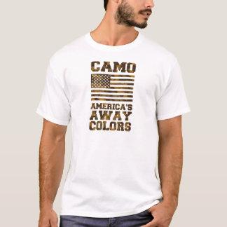 Camo, Americas Away Colors T-Shirt