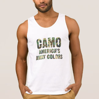 Camo America's Away Colors Tank