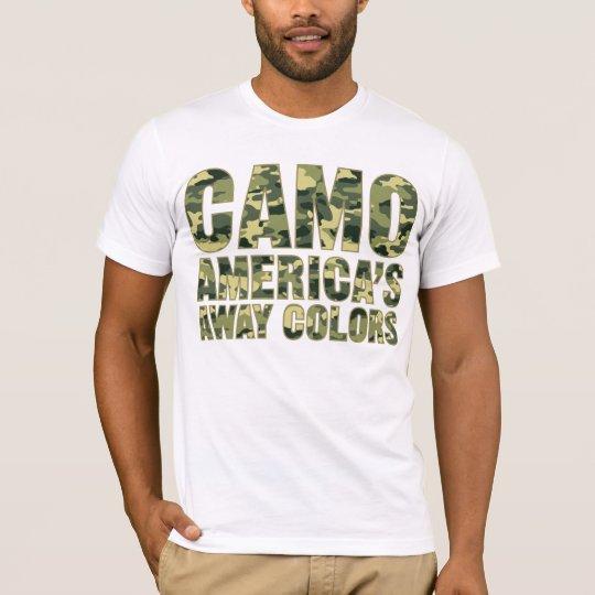 Camo America's Away Colours Shirt