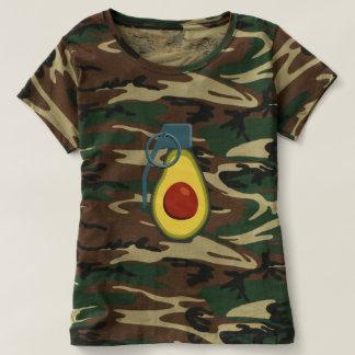 Camo avocado grenade 1 - womens t-shirt
