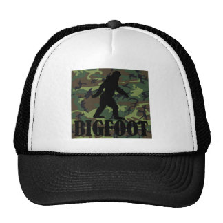 Camo Bigfoot Hat