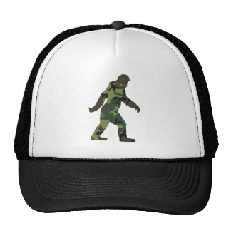 Camo Bigfoot Trucker Hat