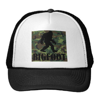 Camo Bigfoot Mesh Hat