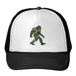 Camo Bigfoot Trucker Hats