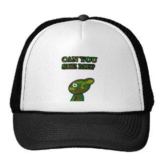 Camo Blue Trucker Hat