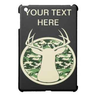 CAMO BUCK LOGO CASE FOR THE iPad MINI
