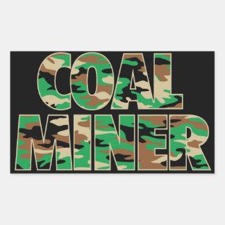CAMO COAL MINER STICKER