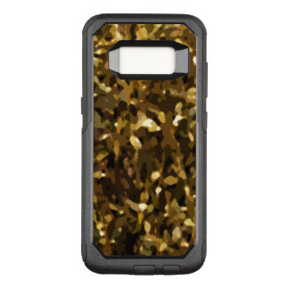 Camo Color Abstract Pattern OtterBox Commuter Samsung Galaxy S8 Case