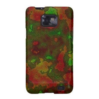 camo colour splash galaxy SII cover