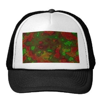 camo colour splash trucker hat