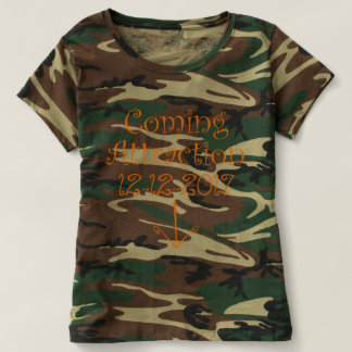 """Camo """"Coming Attraction"""" Due Date & Arrow #2 T-shirt"""